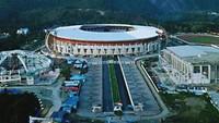 Wow! Megahnya Kawasan Arena PON 2020 di Papua