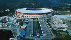 Hitung Mundur Menuju PON XX Digelar di Stadion Lukas Enembe