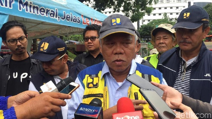 Menteri Pekerjaan Umum dan Perumahan Rakyat (PUPR) Basuki Hadimuljono.
