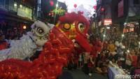 Akulturasi Budaya Bali & China Ramaikan Imlek di Bali