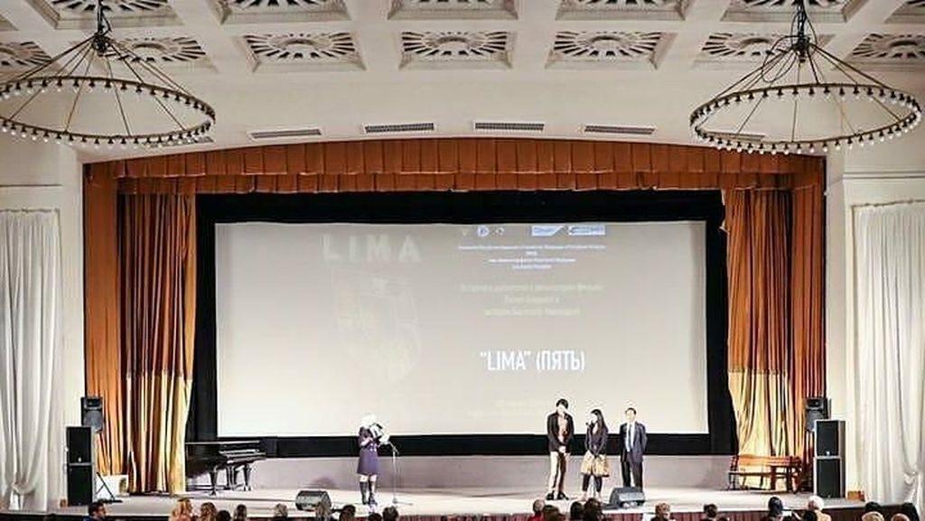 Rayakan Hubungan Diplomatik RI-Rusia ke-70, KBRI Nobar Film Lima
