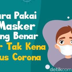 Cara Memakai Masker yang Benar Agar Tak Kena Virus Corona