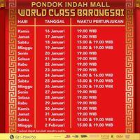 10 Mal di Jakarta yang Tampilkan Barongsai di Hari Imlek 2020