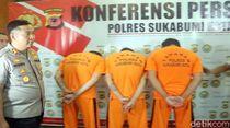 Ditangkap! Ini Tiga Pelaku Pemicu Bentrok Massa di Sukabumi
