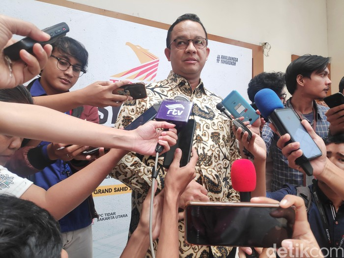 Gubernur DKI Jakarta Anies Baswedan (Matius Alfons/detikcom)