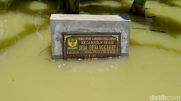 Dikepung Banjir, Lima Dusun di Kabupaten Pekalongan Terisolir