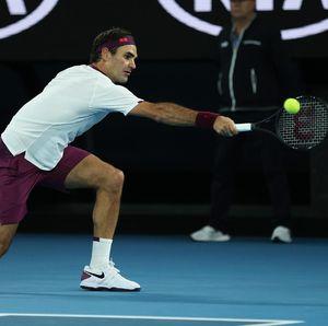 Bertarung Empat Set, Federer Tembus Perempatfinal Australia Terbuka