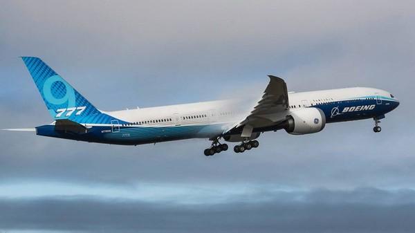 Inilahjalan panjang menuju sertifikasi bagi Boeing 777-9X. Pesawat ini dirancang untuk mengangkut hingga 425 penumpang pada rute 7.600 mil laut, rute jarak jauh, dan diharapkan jadi salah satu pesawat utama di tahun-tahun mendatang (Foto: CNN)