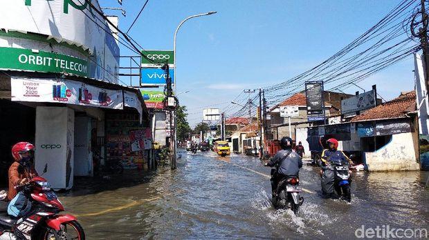 Ratusan Rumah di Gedebage Bandung Terendam Banjir