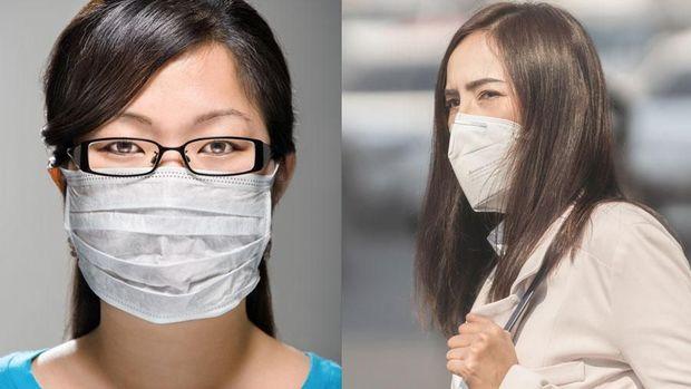 masker bedah vs masker n95 virus corona