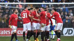 Tranmere Vs Man United: Terlalu Tangguh, Setan Merah Menang 6-0