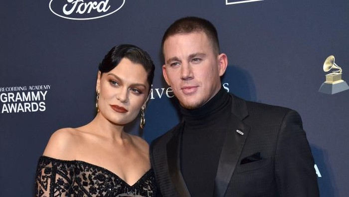 BEVERLY HILLS, CALIFORNIA - JANUARY 25: (L-R) Jessie J and Channing Tatum attend the Pre-GRAMMY Gala and GRAMMY Salute to Industry Icons Honoring Sean Diddy Combs on January 25, 2020 in Beverly Hills, California. (Photo by Gregg DeGuire/Getty Images for The Recording Academy)