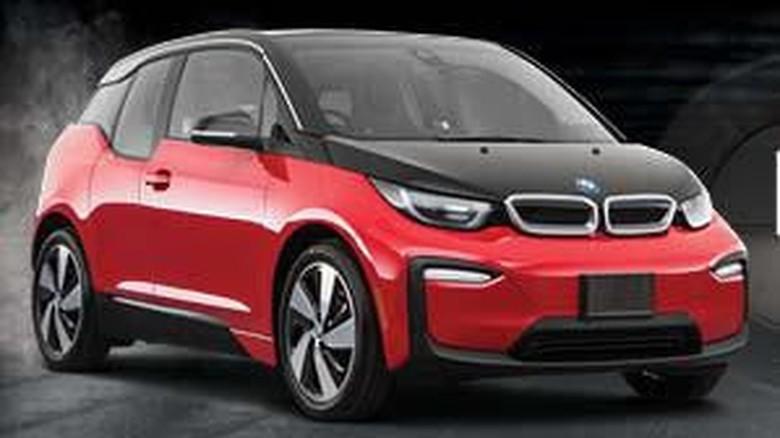 BMW I3, mobil listrik mungil yang bertenaga