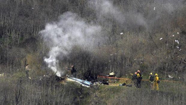 Ini Foto-foto Kecelakaan Helikopter yang Tewaskan Kobe Bryant