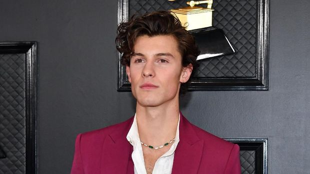 LOS ANGELES, CALIFORNIA - JANUARY 26: Shawn Mendes attends the 62nd Annual GRAMMY Awards at Staples Center on January 26, 2020 in Los Angeles, California. (Photo by Amy Sussman/Getty Images)