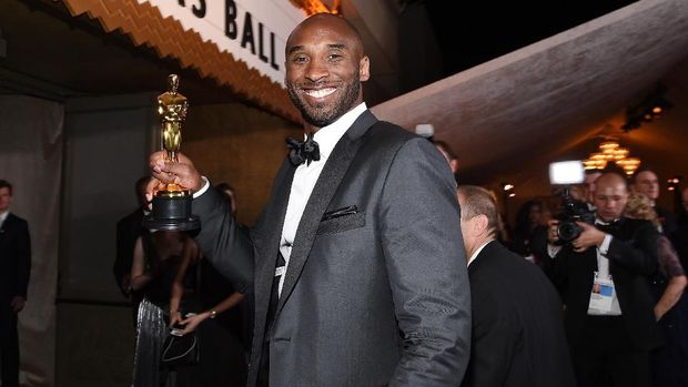 Kobe Bryant di Oscar 2018.