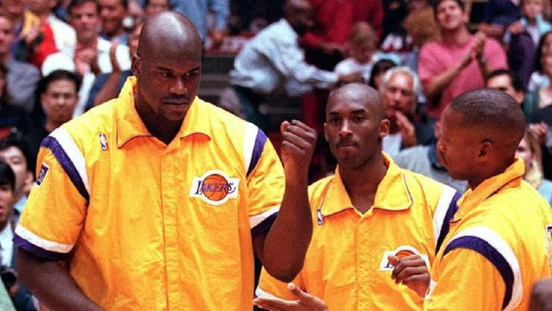 Kobe Bryant meraih lima gelar juara NBA bersama LA Lakers.