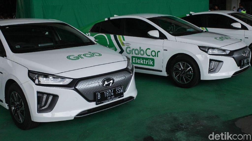 Grab Punya Target Operasikan 500 Taksi Listrik Tahun Ini