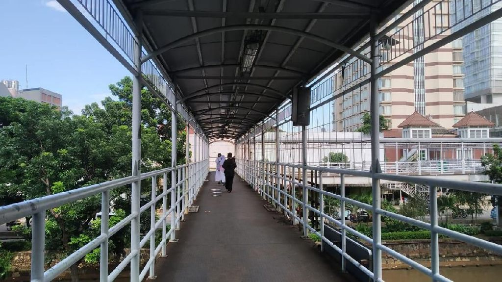 Wanita Disilet di JPO Halte Olimo, Polisi: Pelaku Diduga ALami Gangguan Jiwa