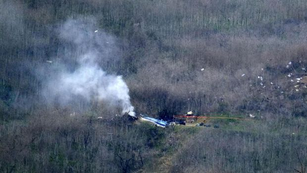 Kabut Pekat di Lokasi Kecelakaan Kobe Bryant, Kenapa Helikopter Nekat Terbang?