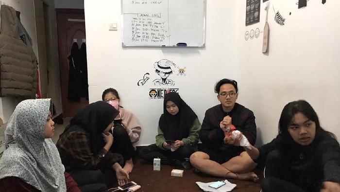 DOK. ISTIMEWA/ Mahasiswa asal Aceh di Wuhan China