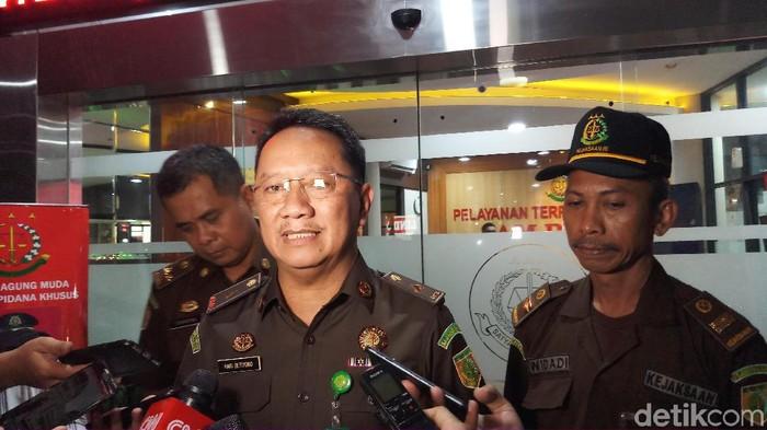 Kepala Pusat Penerangan dan Hukum (Kapuspenkum) Kejagung, Hari Setiyono. ( Farih Maulana Sidik/detikcom)