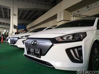 Jajal Mobil Listrik Hyundai, Begini Komentar Menhub Budi Karya