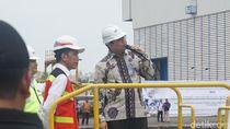 Didampingi Luhut-Prabowo, Jokowi Tinjau Kapal Selam Alugoro-405 di PT PAL
