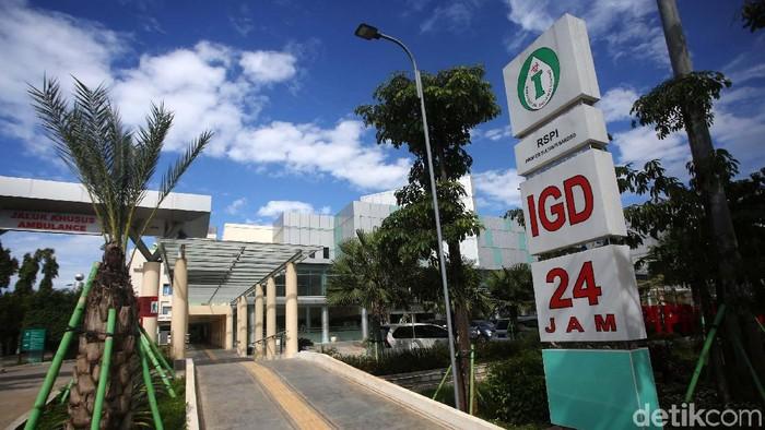 Pemerintah telah menunjuk 100 rumah sakit dalam upaya penanganan virus corona. Rumah Sakit Penyakit Infeksi (RSPI) Sulianti Saroso, Jakarta, salah satunya.