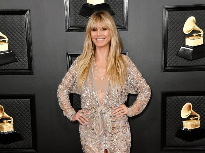 LOS ANGELES, CALIFORNIA - JANUARY 26: Heidi Klum attends the 62nd Annual GRAMMY Awards at STAPLES Center on January 26, 2020 in Los Angeles, California. (Photo by Frazer Harrison/Getty Images for The Recording Academy)