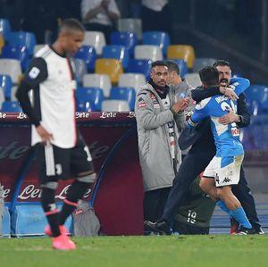 Secuil Kegembiraan Sarri Usai Juventus Dikalahkan Napoli