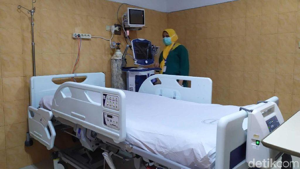 Antisipasi Tangani Pasien Virus Corona, RSUZA Aceh Siapkan 6 Ruang Isolasi