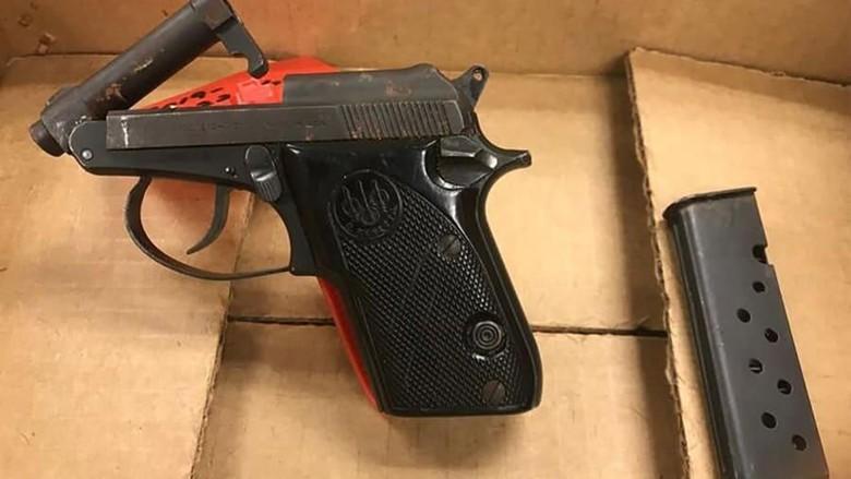 Senjata Api Sitaan TSA