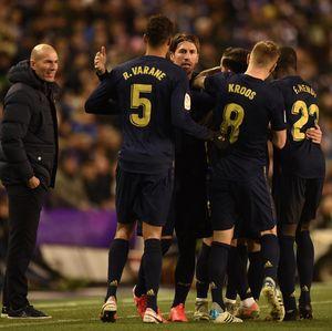 Zidane Lega Madrid Kalahkan Valladolid, Apalagi Kuasai Puncak Klasemen