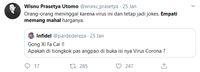 Jangan Melucu di Tengah Kematian Banyak Manusia Korban Virus Corona