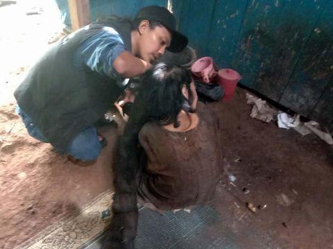 Sukiyah, perempuan berambut gimbal dihuni tikus dan kecoak di Kabupaten Semarang.
