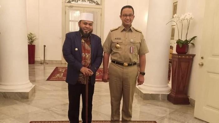 Helmi Hasan Bertemu Anies Baswedan