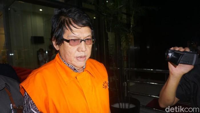 Herry Nurhayat ditahan KPK terkait kasus dugaan korupsi RTH Bandung.