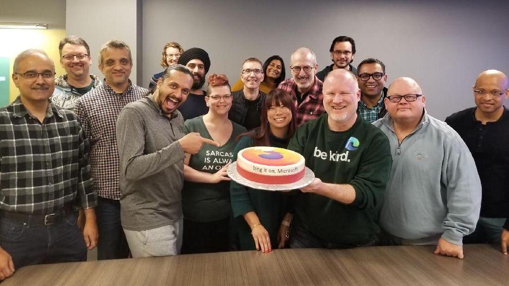 Edge Dirilis, Google dan Mozilla Kirim Kue ke Microsoft