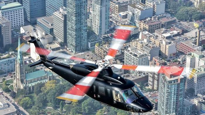 Helikopter Sikorsky S-76B