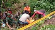 Mayat Laki-laki Ditemukan Tersangkut Pohon di Jurang Taraju Tasikmalaya