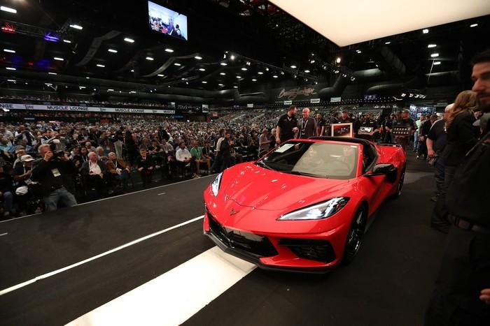 Lelang Corvette C8 2020 Produksi Pertama, Tembus Rp 40 miliar