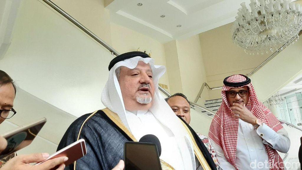 Dubes Saudi: Penambahan Kuota Haji Tergantung Raja Salman dan Jokowi