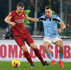 AS Roma Vs Lazio: Dua Blunder Fatal Buat Derby Della Capitale Tuntas 1-1
