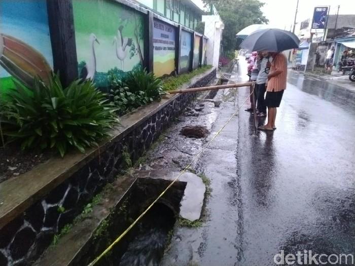 Gorong-gorong smpn 6 tasikmalaya lokasi temuan mayat
