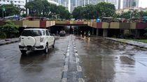 Banjir Surut, Underpass Kemayoran Bisa Dilalui Kendaraan