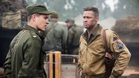 Brad Pitt dalam film 'Fury'.