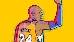 Seniman Indonesia Kenang Kepergian Kobe Bryant Lewat Gambar