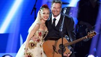 Diisukan Batal Nikah, Gwen Stefani-Blake Shelton Umumkan Pertunangan