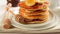 Cara Membuat Pancake Pisang yang Manis Empuk